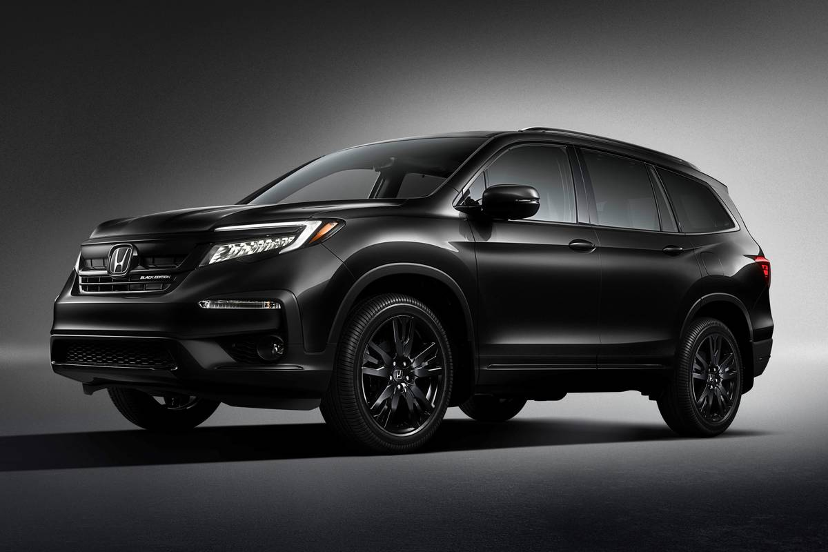2020 Honda Pilot Gets New Top Of The Line Black Edition 100 Hike