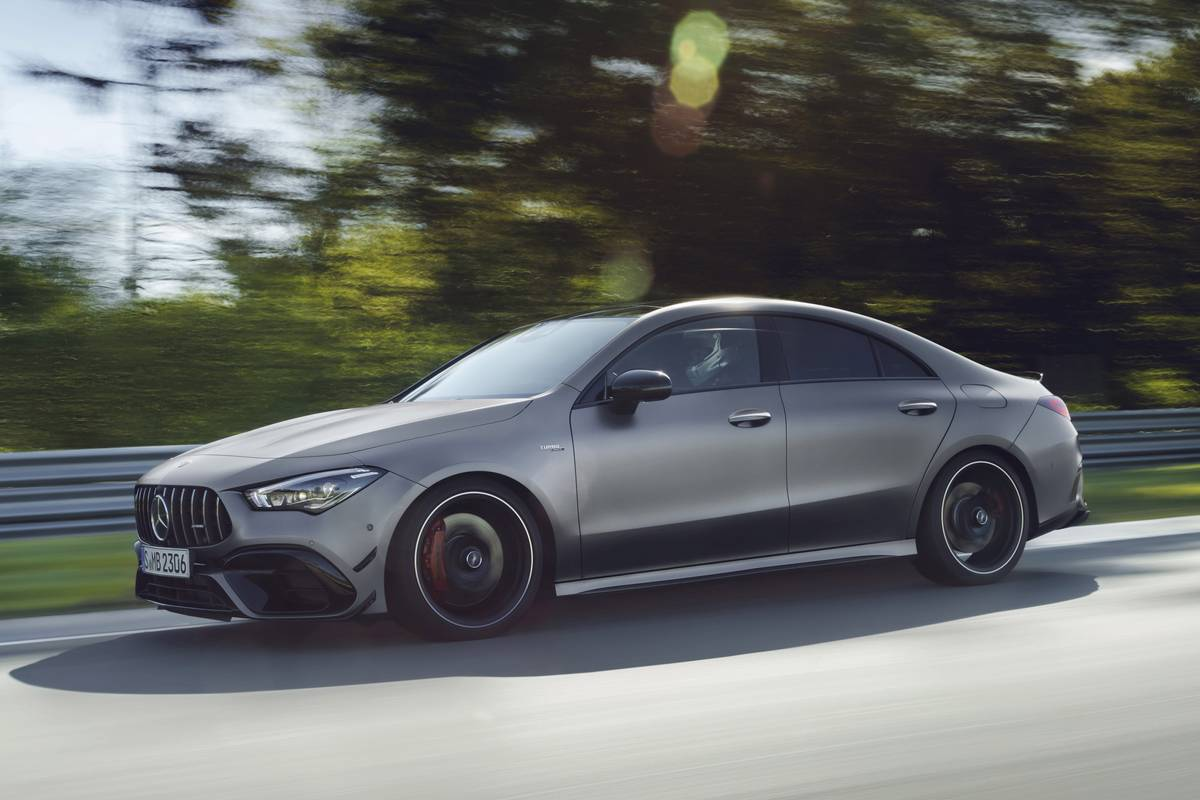 2020 Mercedes CLA45 Packs AMG Engine With Record Output