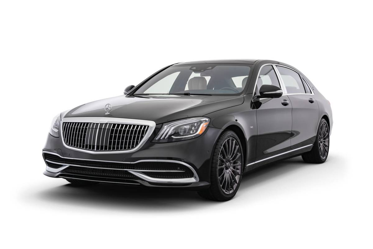 Talk About Spending the Night! Mercedes-Maybach S650 Night Edition Costs $244K