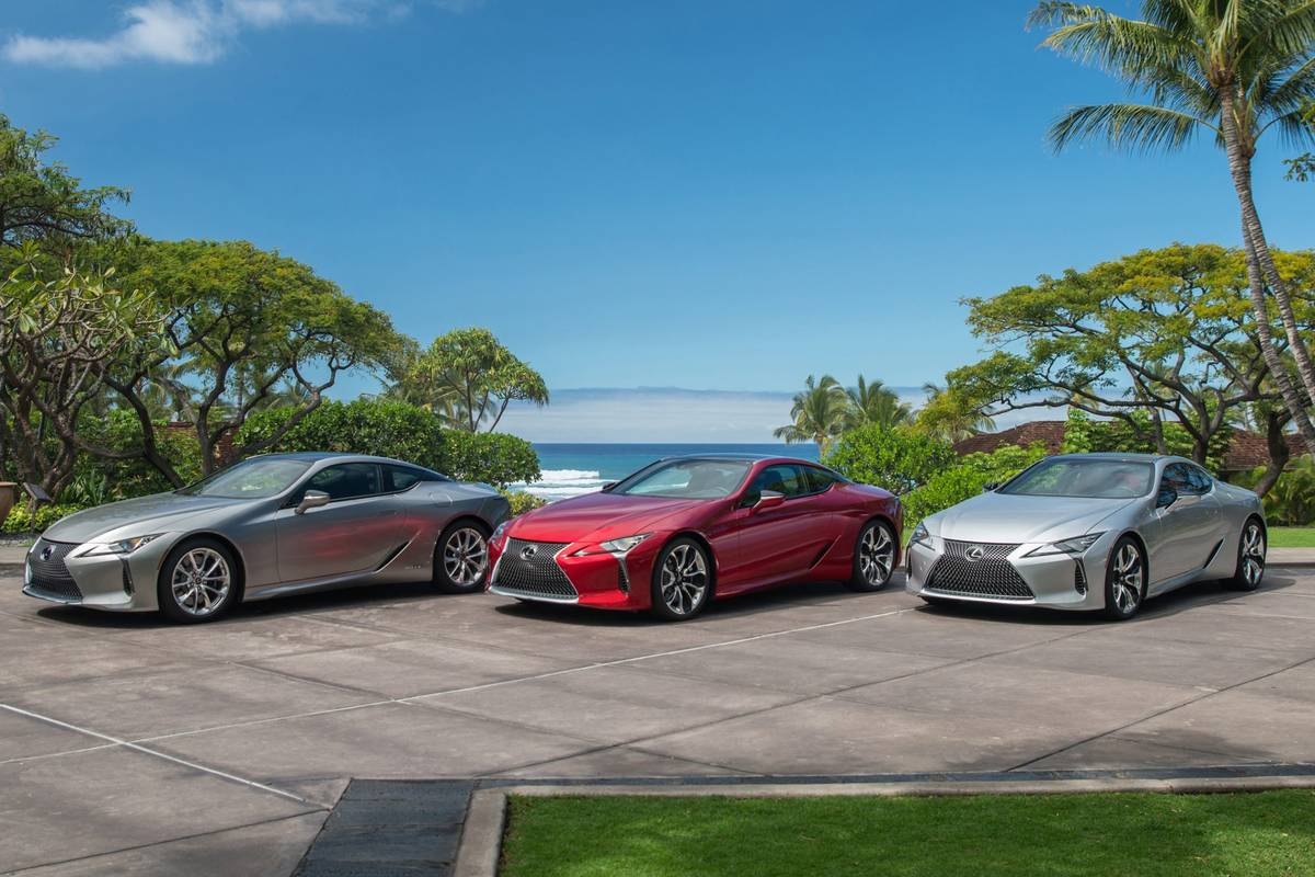 Lexus LC 500 Keeps Fresh for 2021 With New Colors, Driving Dynamics, Android Auto