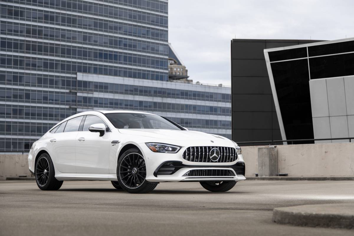'Entry Level' 2021 Mercedes-AMG GT43 Joins the 4-Door Coupe Lineup