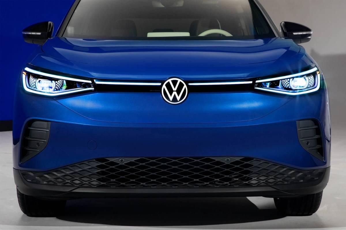 Blue 2021 Volkswagen ID.4