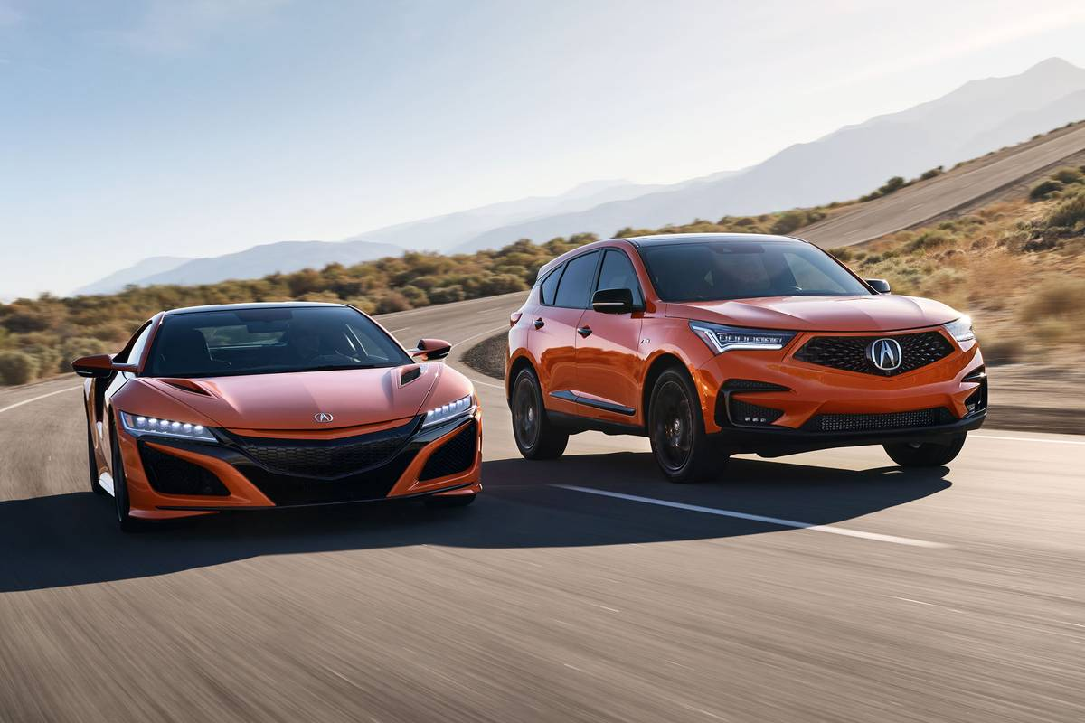 2021 Acura RDX Gets Amped (and Orange) With PMC Treatment | News from Cars.com