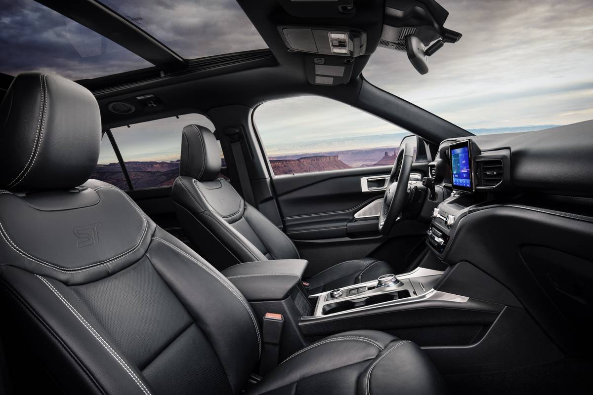 U Mad 4 Reasons The 2020 Ford Explorer S Seats Won T Leave You Butthurt News Cars Com