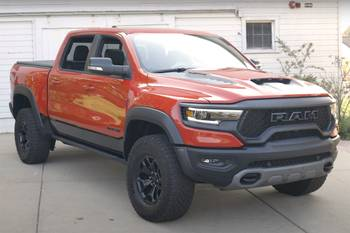2021 Ram 1500 TRX Video: Pickup Truck Has New TRX Up Its Sleeve