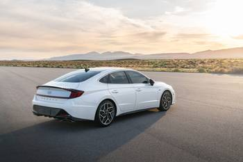 N Line Adds More Pep to 2021 Hyundai Sonata's Step