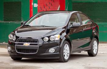 2012 Chevrolet Sonic: Car Seat Check