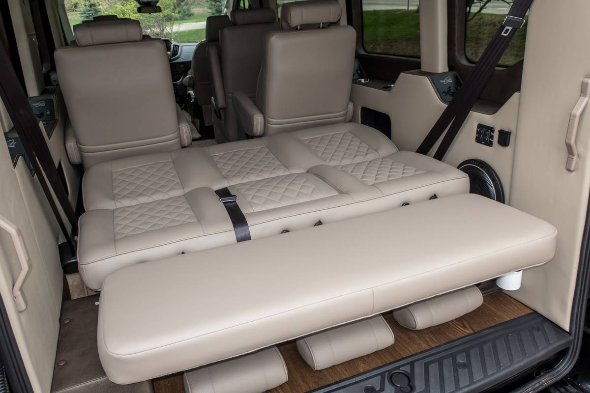 Do You Really Need A Full Size Luxury Suv How About A Conversion Van Instead News Cars Com