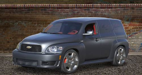 2008 Chevy Hhr Panel Ss Concept News Cars Com