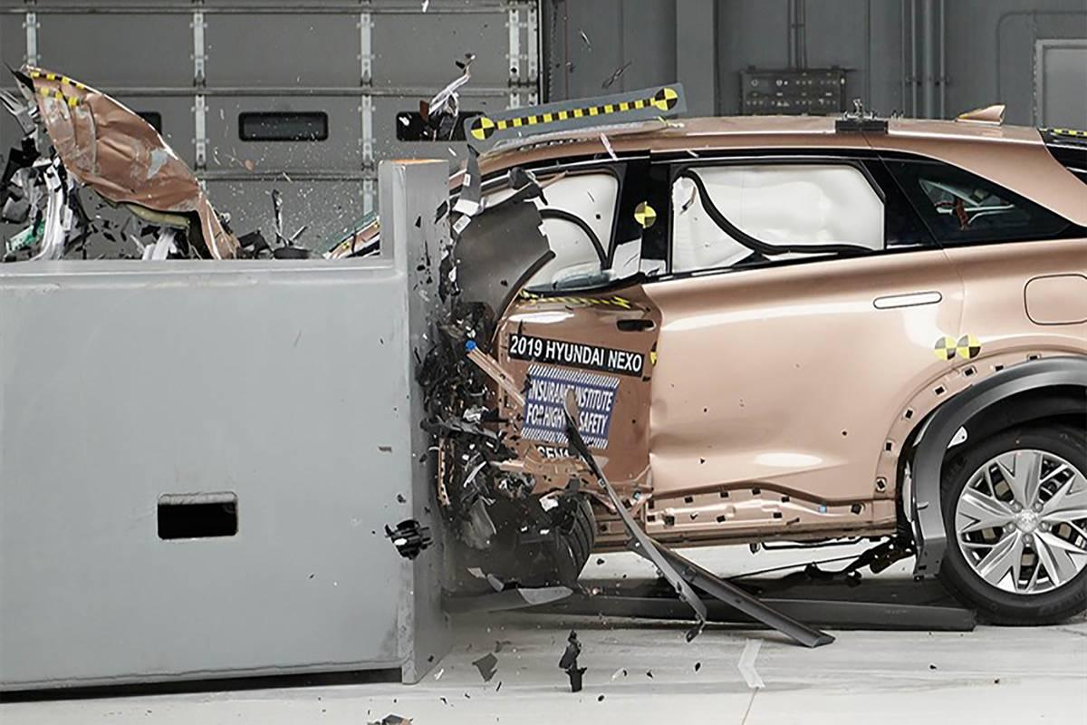 2019 Hyundai Nexo crash test