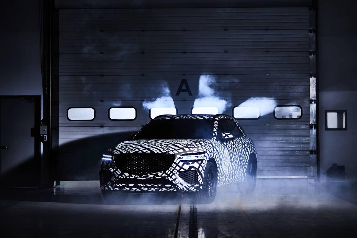 Camouflage Genesis GV70 teaser image