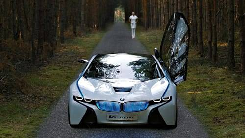 BMW Vision EfficientDynamics Concept Car at 2009 Frankfurt Motor Show