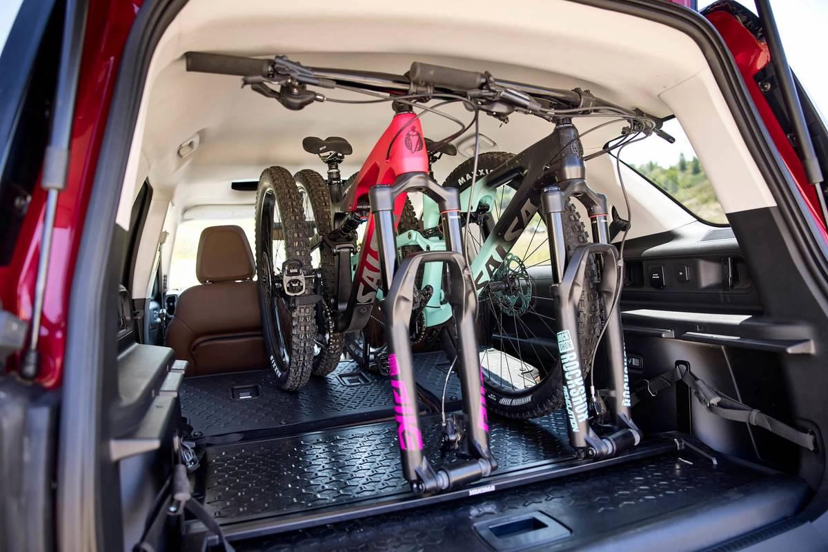 Ford Bronco Sport Off Roadeo Adventure Patrol Concept rear cargo