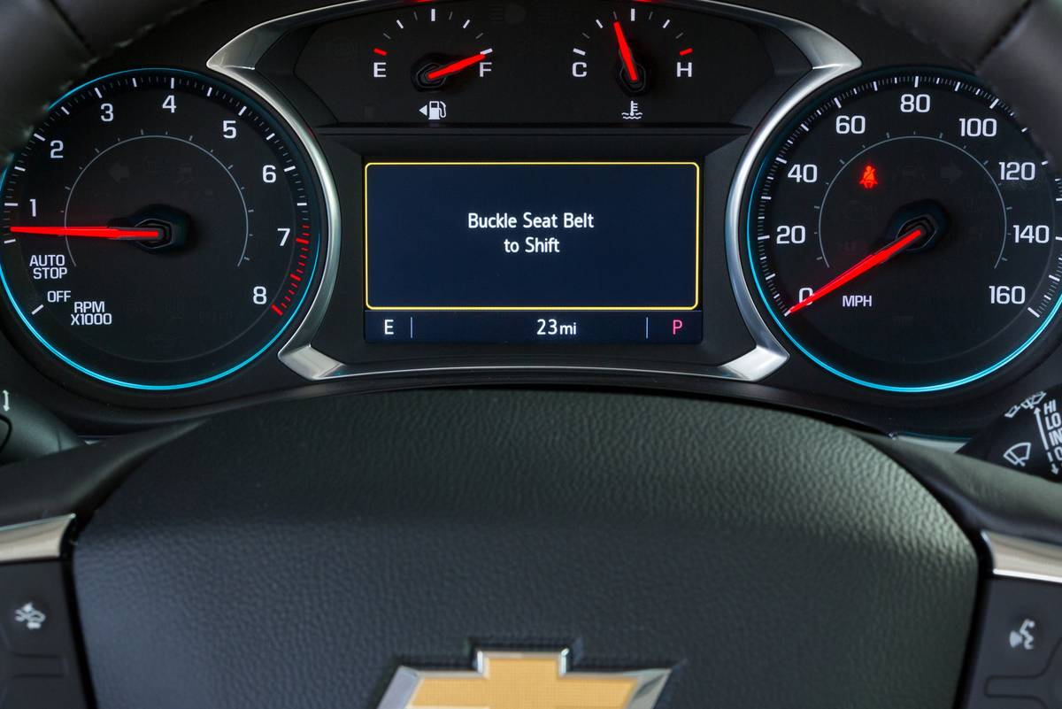 Chevrolet Traverse Buckle 2 Drive Teen Driver Technology