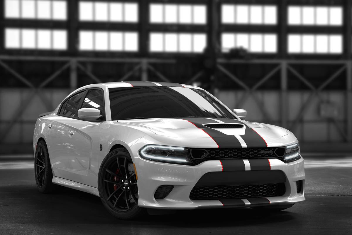 Then Everything Went Black Limited Dodge Charger Hellcat Gets Dark News Cars Com