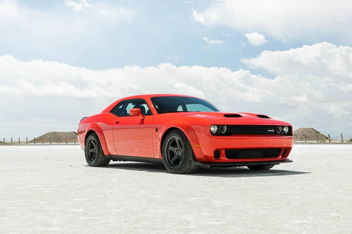 2020 Dodge Challenger Srt Super Stock Will Cost About 100 Per Horsepower News Cars Com