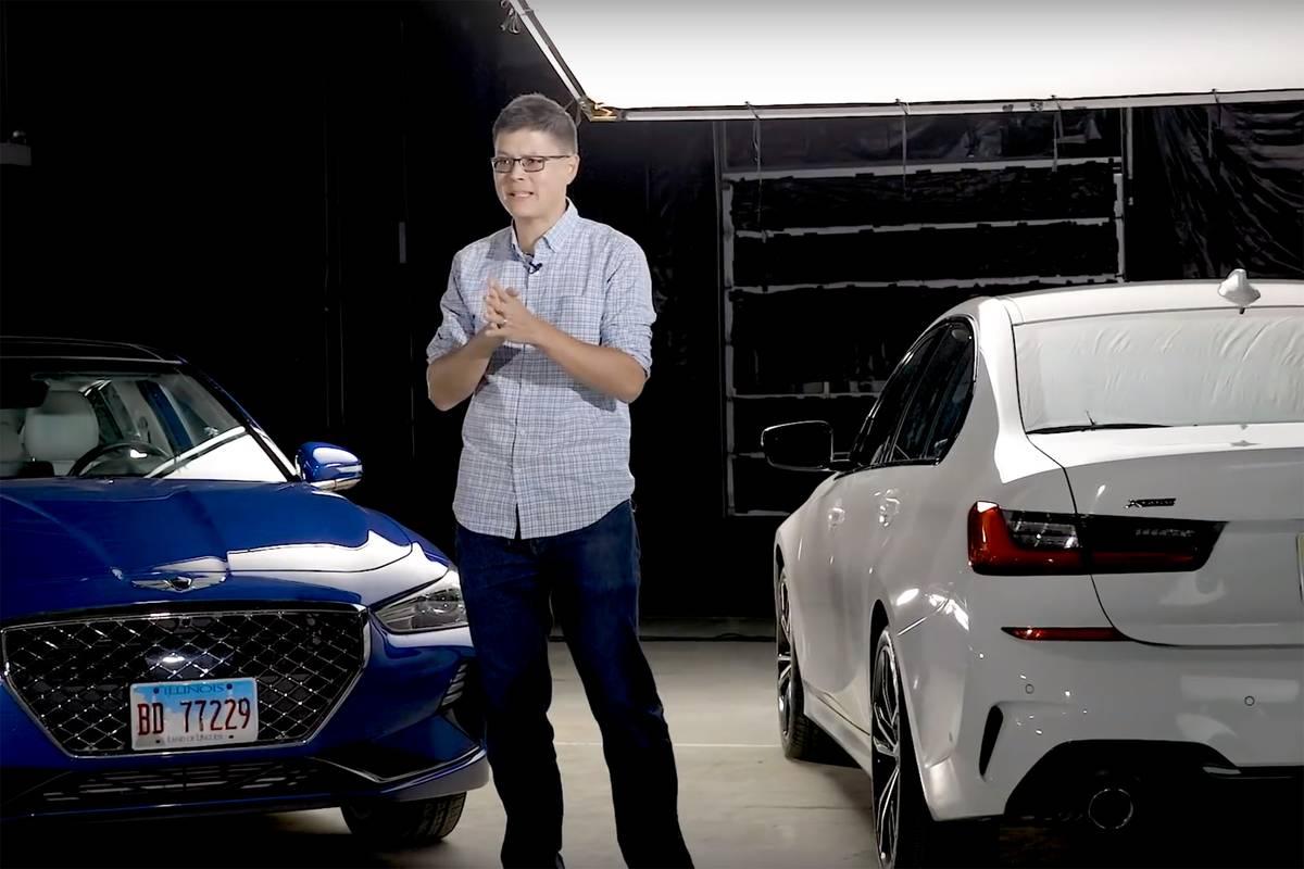 Genesis G70 Vs. BMW 3 Series Video: Luxury Sports Sedan Smackdown