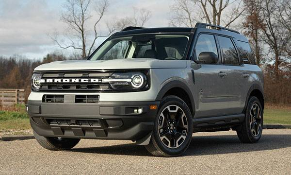 2021 ford bronco: what's each trim level of the bronco