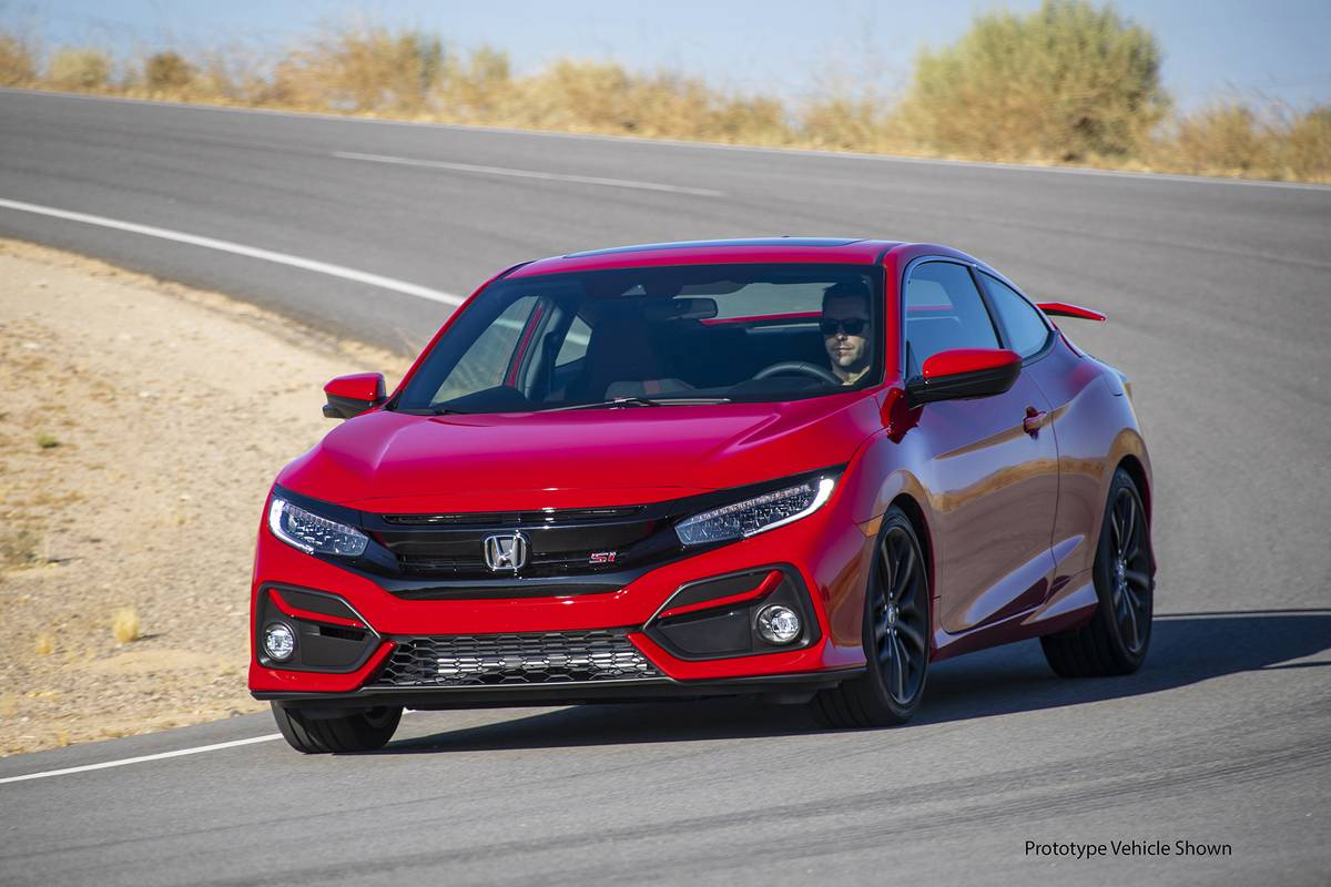 2020 Civic Si Pays Gas Mileage Penalty For Quicker Acceleration News Cars Com