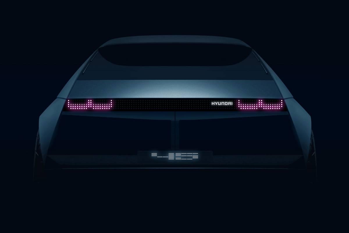 Hyundai to Pony Up for Retro-Futuristic '45' Electric-Car Concept in Frankfurt