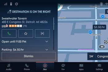 Ford Sync 4 Multimedia System Can Find You a Parking Spot, Cheap Gas