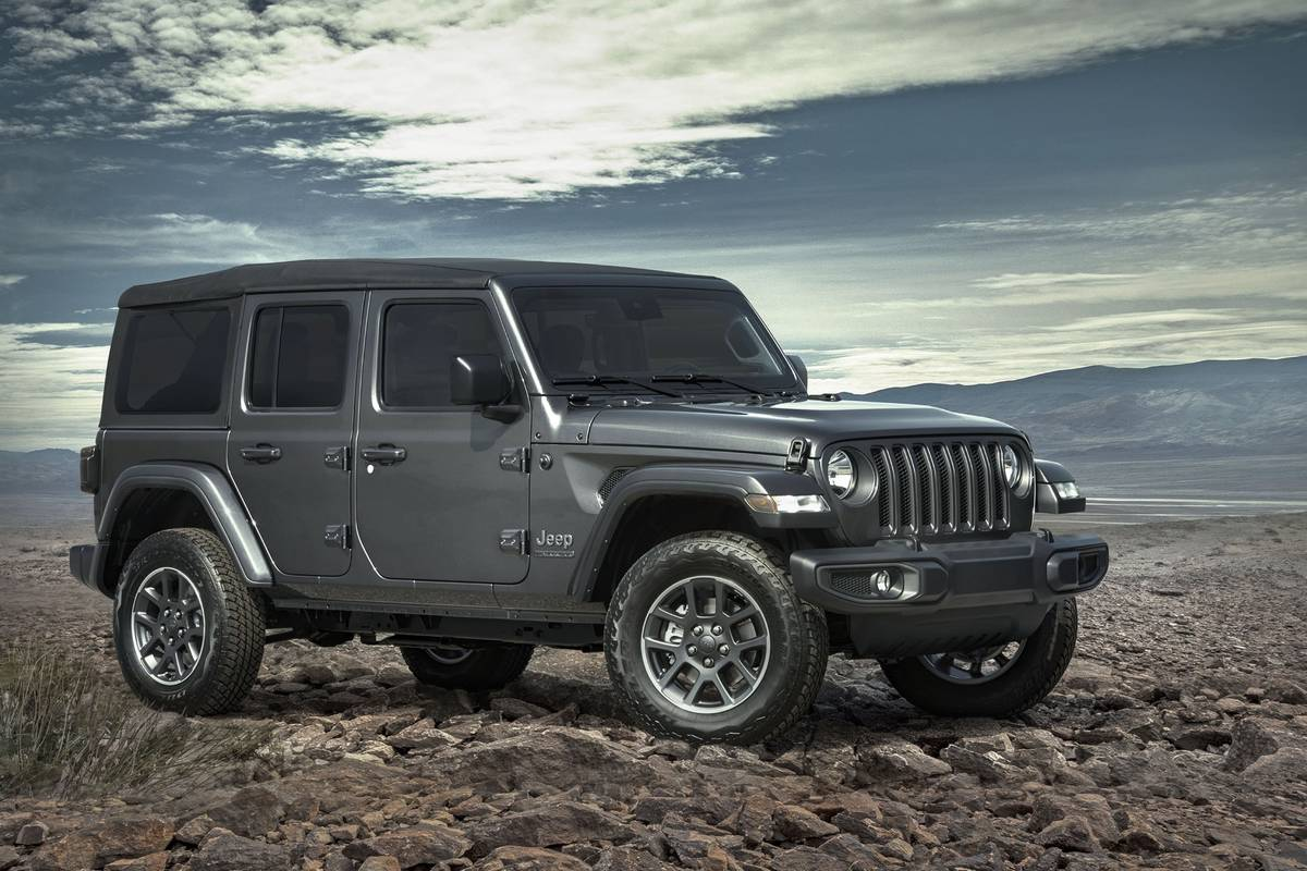 It's the 2021 Model Year, but Jeep Anniversary Editions Are Celebrating the 80s