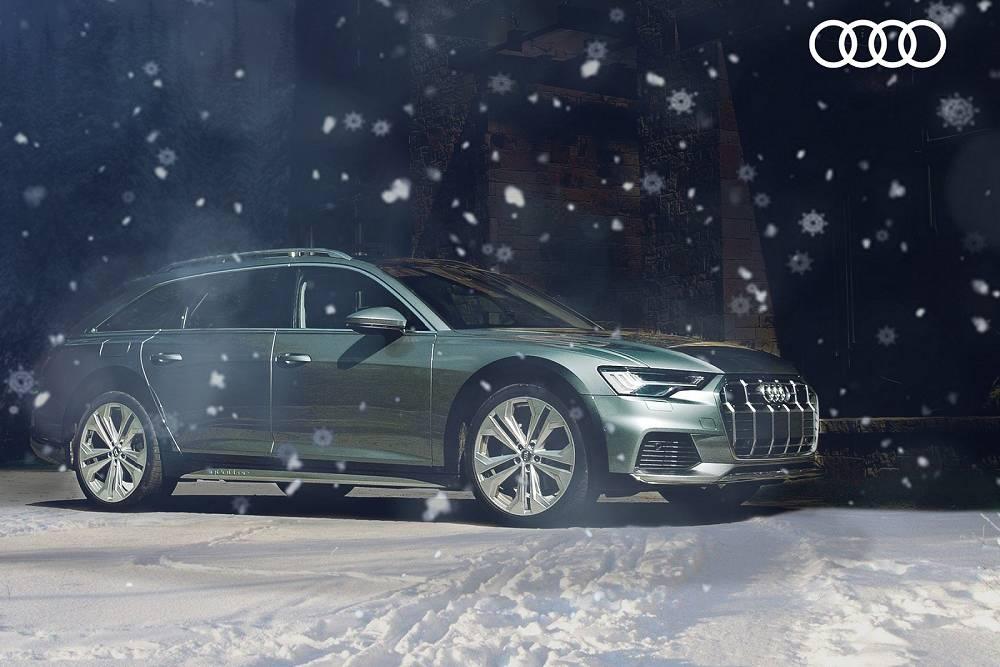 A Wagon for Christmas? Audi Unwraps 2020 A6 Allroad | News | Cars.com
