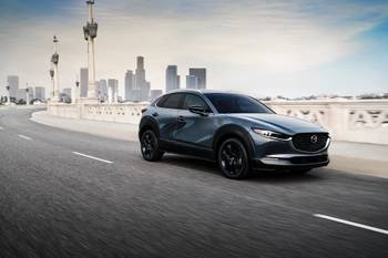 2021 Mazda CX-30 Adds 2.5-Liter Turbo 4-Cylinder Engine