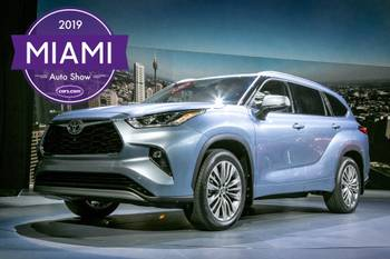 2019 Miami Auto Show: 2020 Toyota Highlander and 4 Other Things You Can't Miss