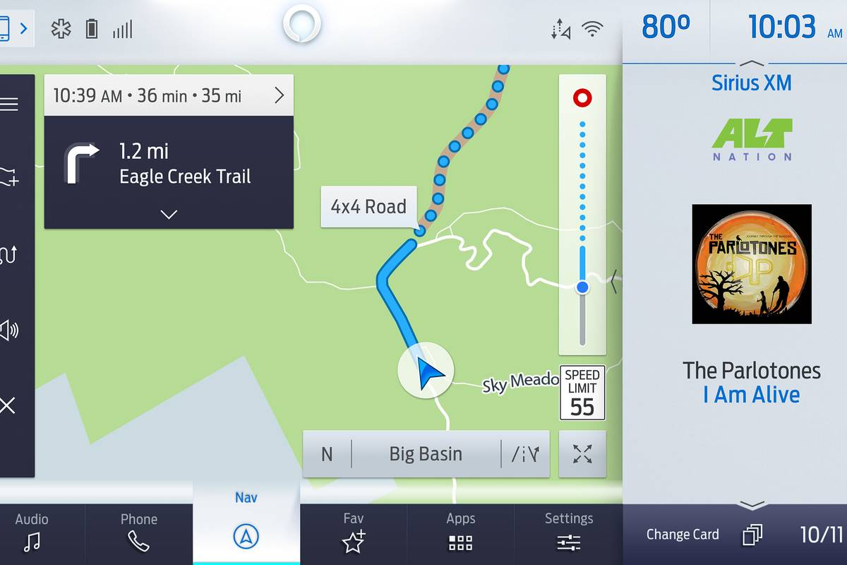 Ford's New GPS Navigation System: Where We're Going, We Don't Need Roads (or Cell Service)