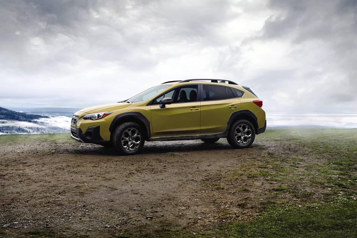 2021 Subaru Crosstrek side view