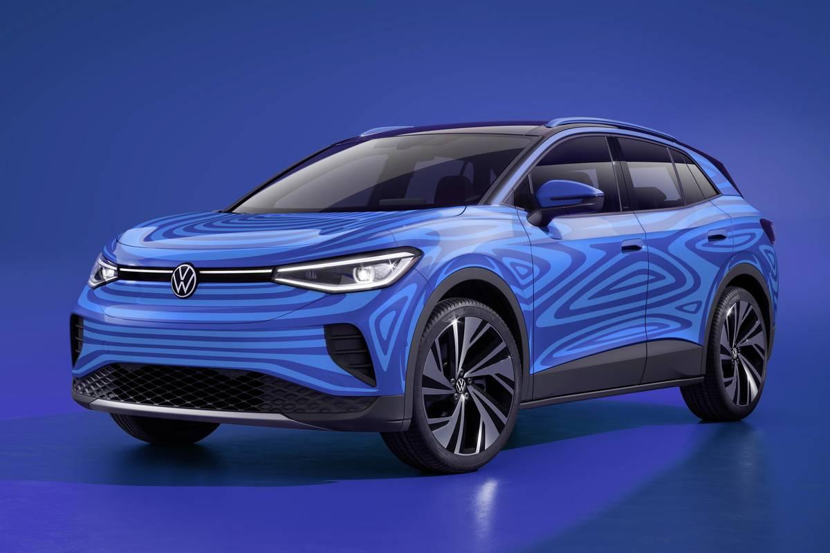 Volkswagen ID.4 front VW OEM