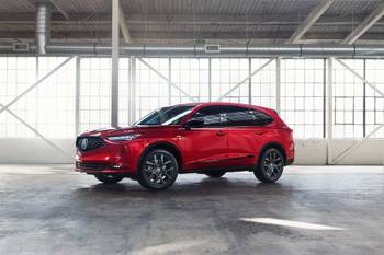 2022 Acura MDX: Cost Up, Fuel Economy Down
