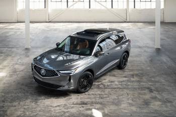 2022 Acura MDX Named IIHS Top Safety Pick Plus