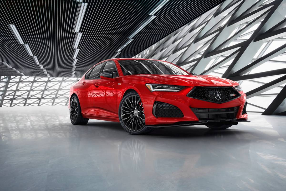 2021 Acura TLX Looks Good ... Really Good