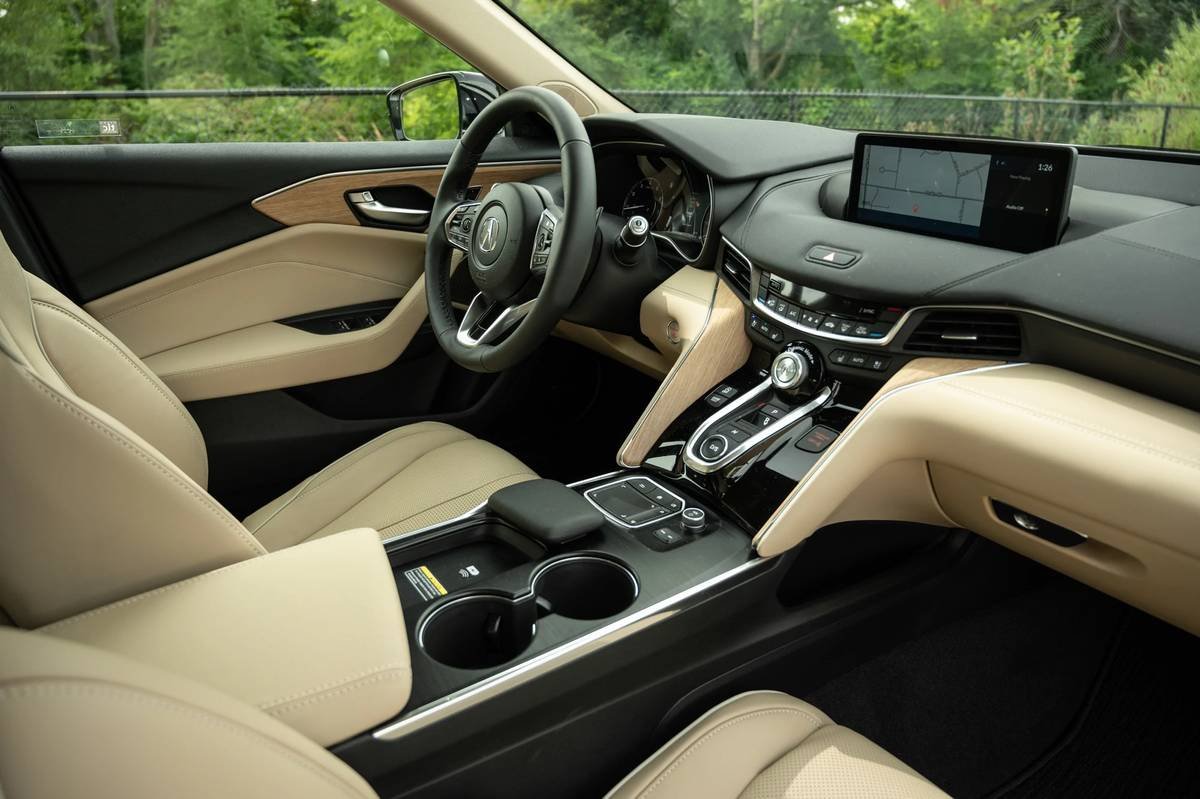 2021 Acura TLX dashboard