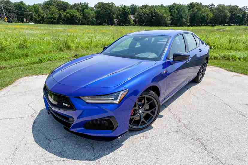 acura-tlx-type-s-2021-02-angle-blue-exterior-front-sedan