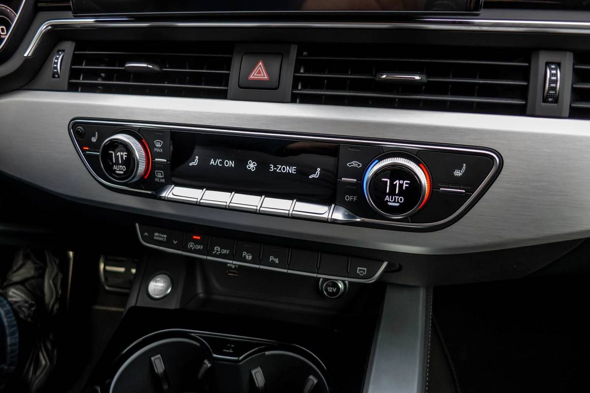 2021 Audi A4 climate control