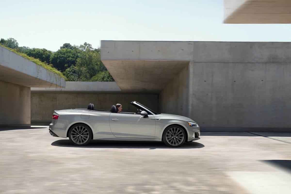 Silver 2020 Audi A5 Cabriolet