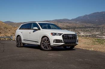 2020-21 Audi Q7 Recalled for Passenger Airbag Issue