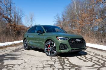 2021 Audi SQ5 Review: Not as Racy as It Looks, and That's OK