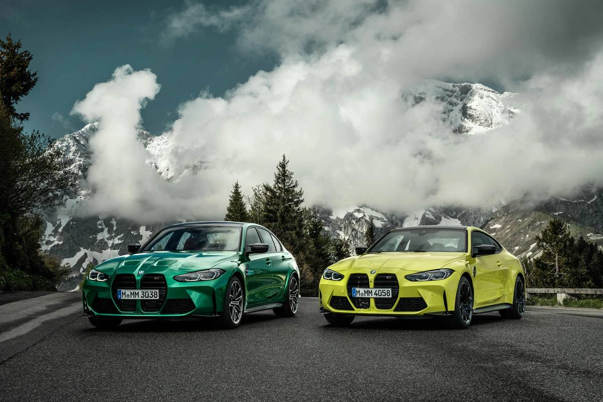 2021 BMW M3 Competition Sedan and BMW M4 Competition Coupe