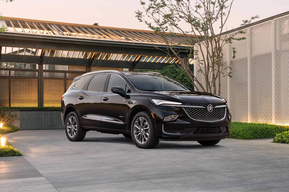 Buick Shows Sneak Peek of 2022 Enclave SUV