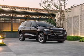 Buick Shows Sneak Peek of 2022 Enclave SUV