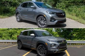 Should You Buy a 2021 Chevrolet Trailblazer or Spend More for a 2020 Buick Encore GX?