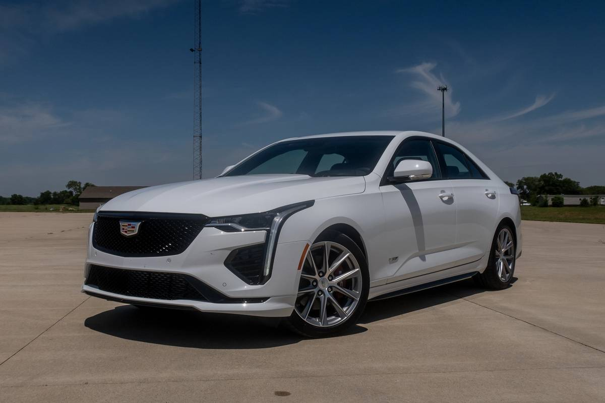 2020 Cadillac CT4-V Review: Think of It as Fun-Sized