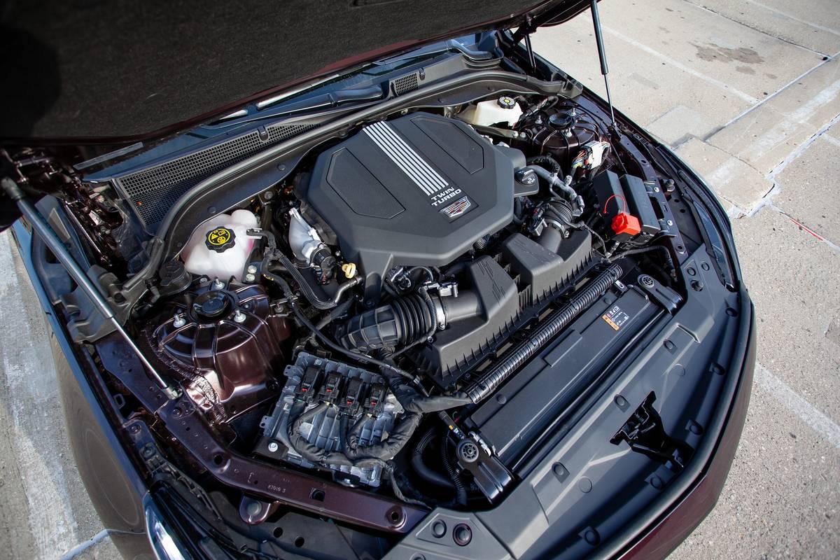 2020 Cadillac CT5 engine