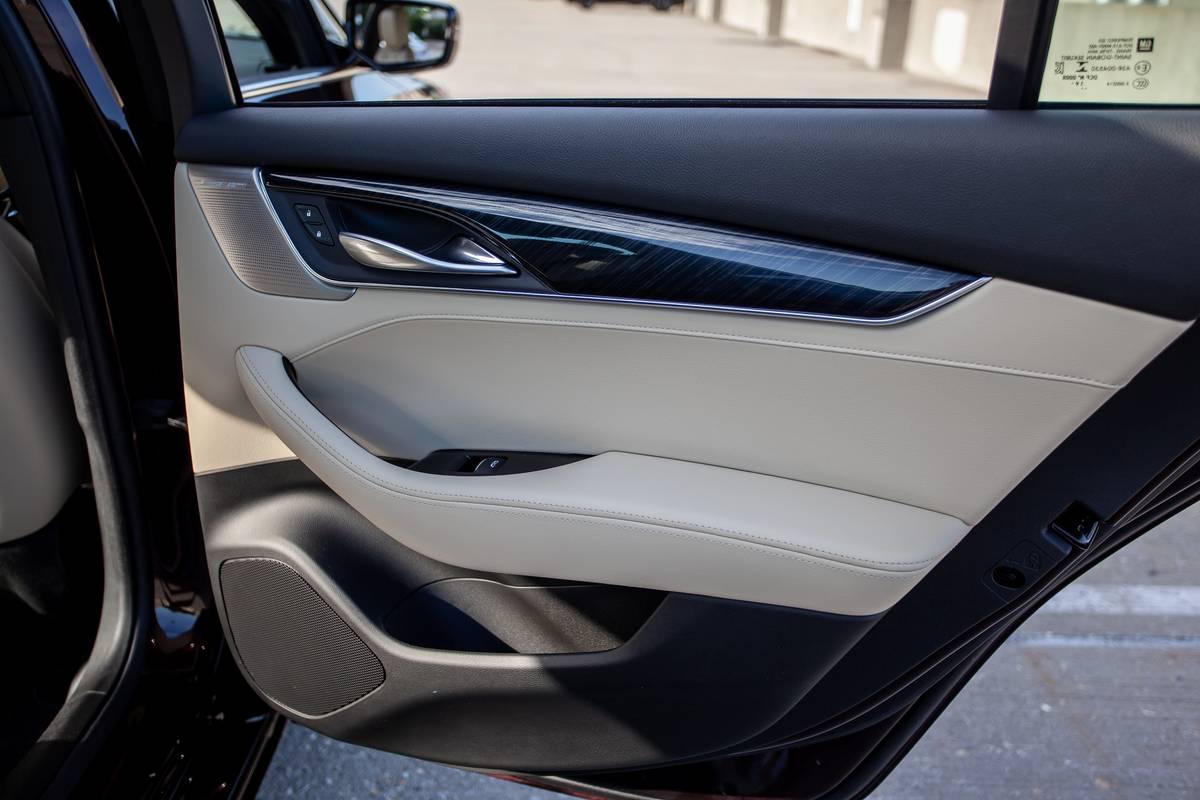 2020 Cadillac CT5 rear door
