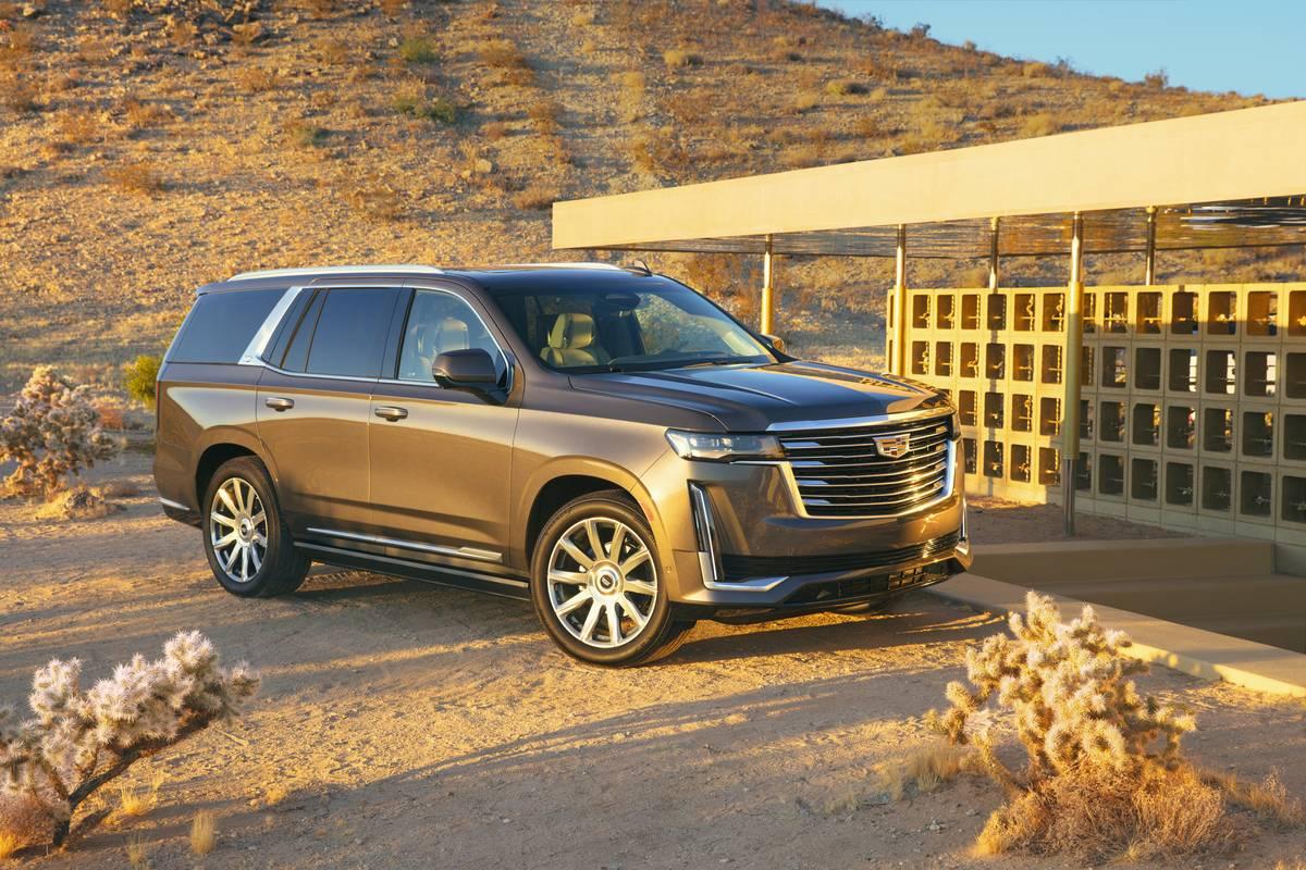 2021 Cadillac Escalade: Putting the Navigator on Notice ...