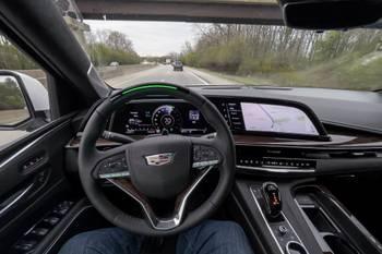 Tested: Cadillac's Next-Gen Super Cruise on the 2021 Cadillac Escalade
